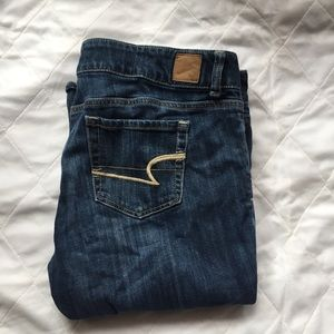 AMERICAN EAGLE Size 14 Short Boot Cut Jeans ⬇️